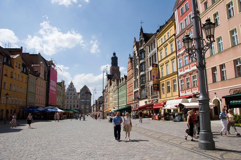 Wroclaw Downtown
