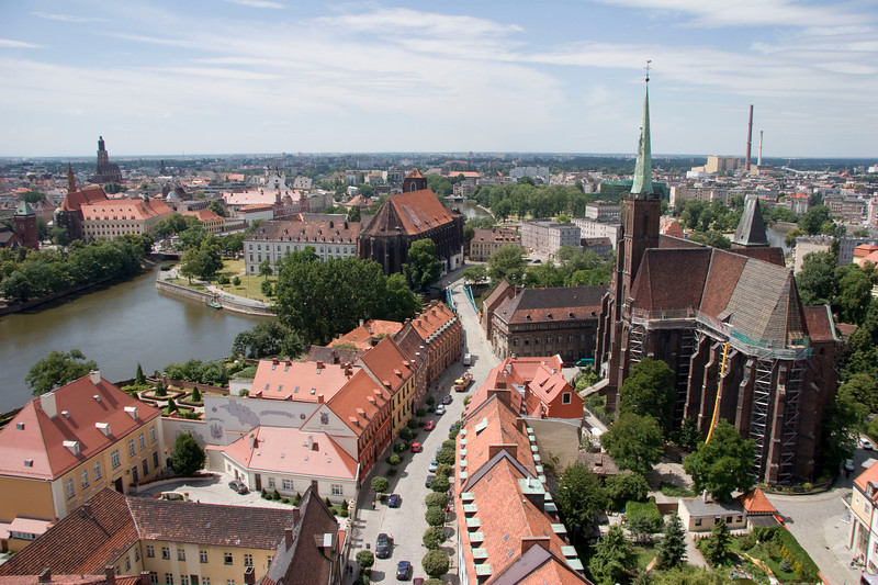 Wroclaw View from Cathedral
