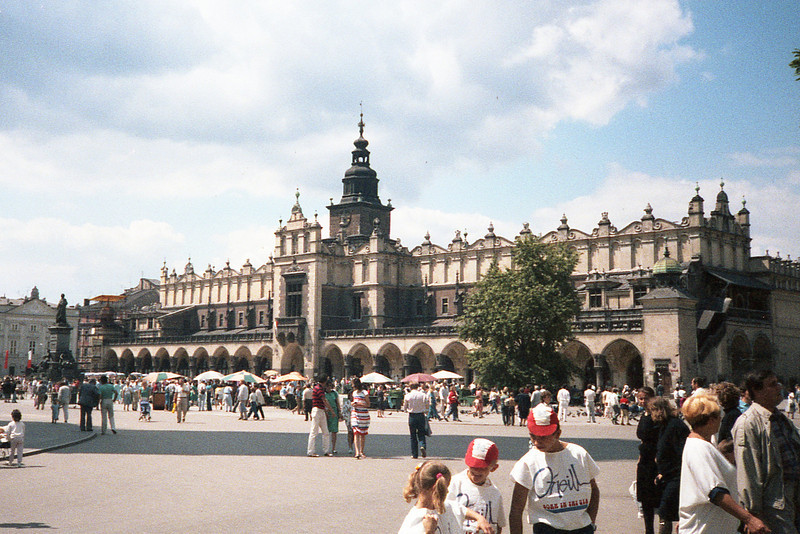 Sukiennice, The Cloth Hall.  Site of much shopping in the Rynek Główny.
