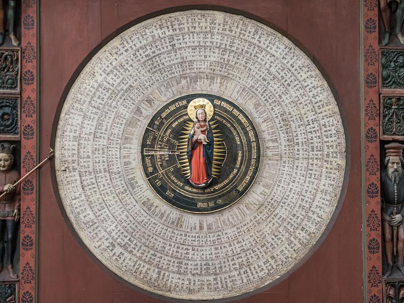 Ecclesiastic Clock (1464), St Mary's