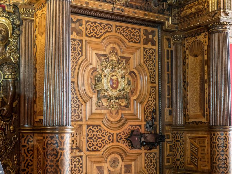Council Chamber Woodwork