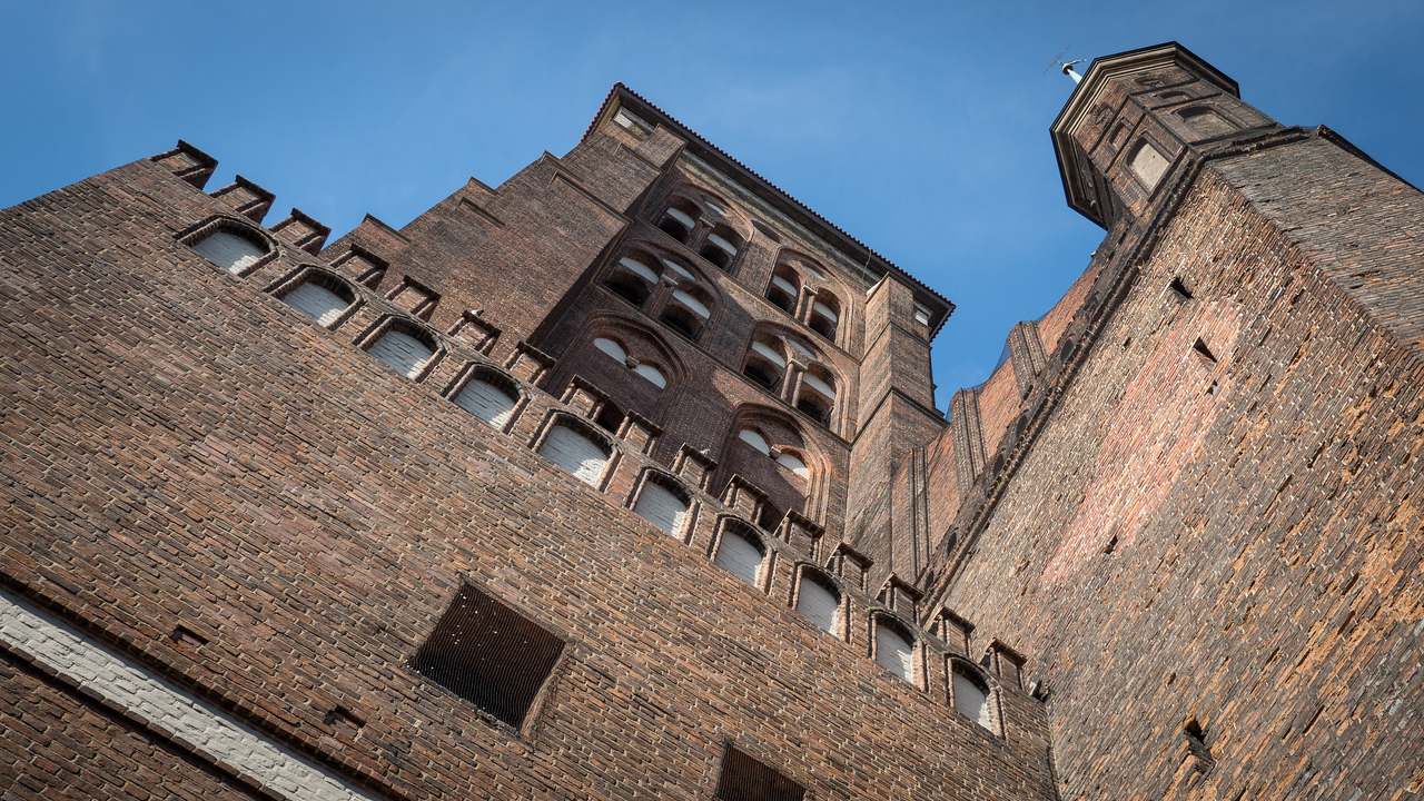 St Mary's Basilica (1343-1502), Largest Brick Church in Europe