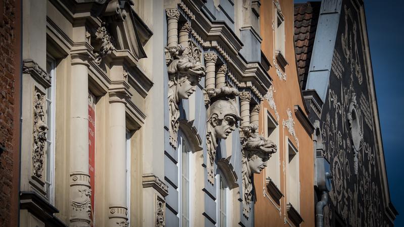 Building's Along Royal Way, Gdansk