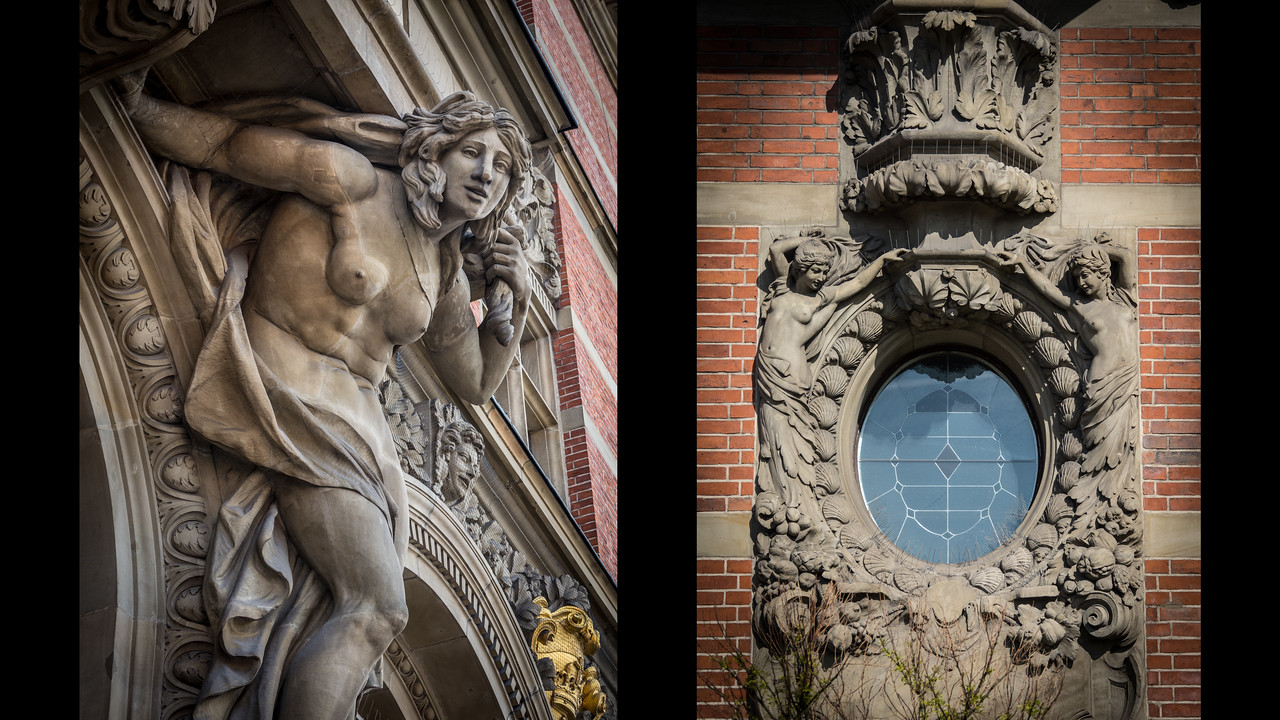 Detail of National Bank of Poland