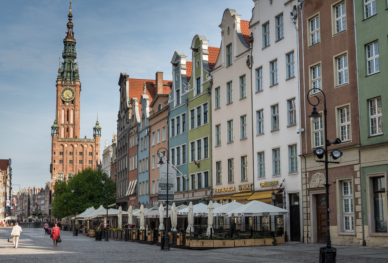 Gdansk Long Market and Town Hall
