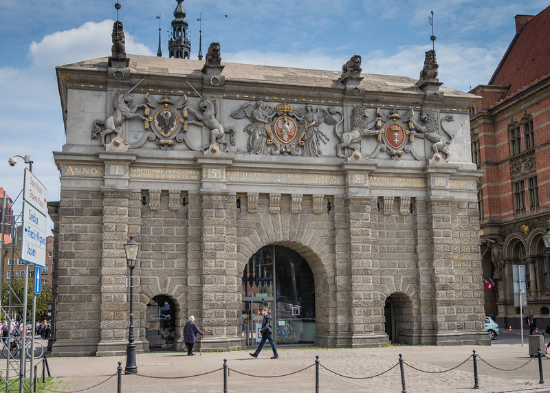 Tall Gate (1574), Beginning of The Royal Way, Gdansk