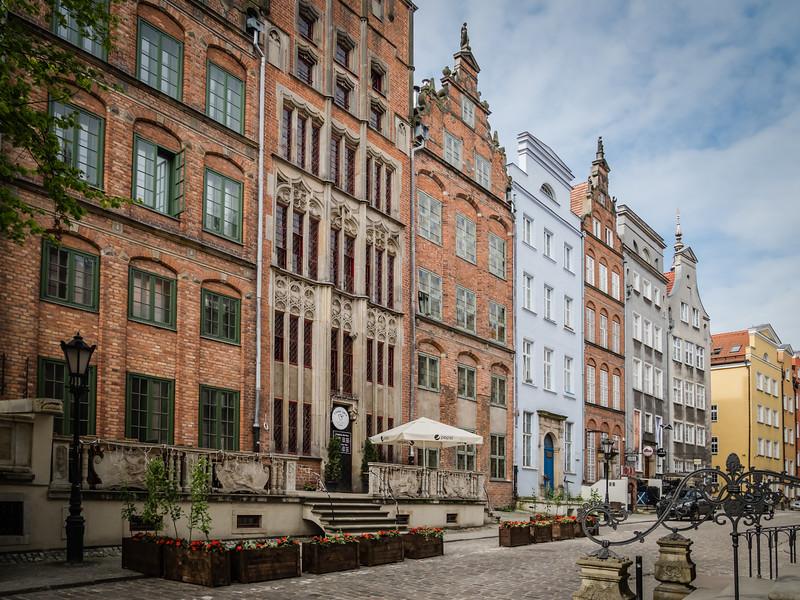 Chlebnicka Street Houses