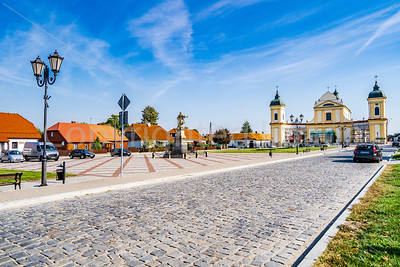 Czarnieck square in Tykocin