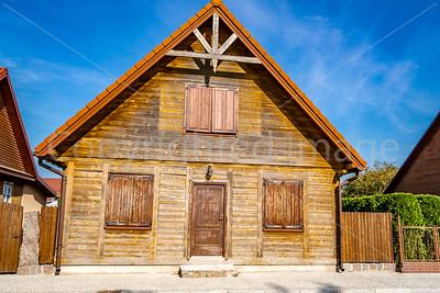 Wooden house in Tykocin