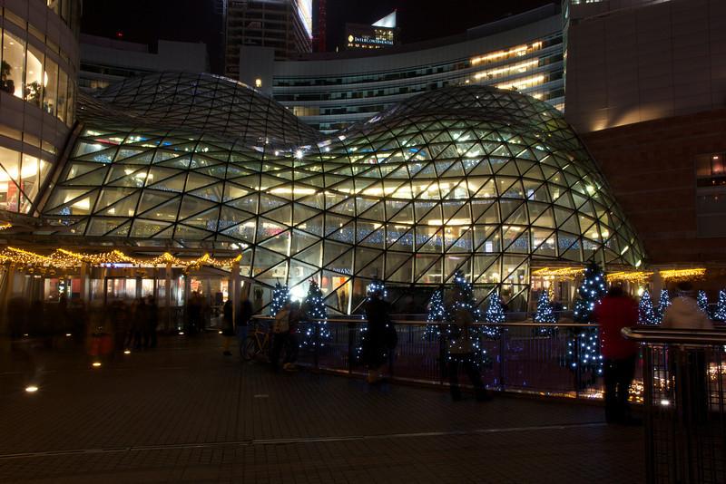 Zlote Tarasy Shopping Centre in Warsaw