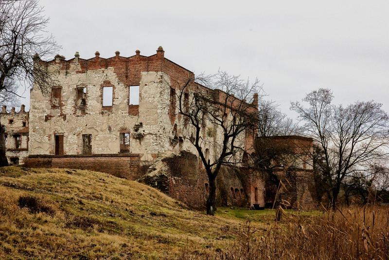 Ruins of the Castle Krupem, in the village of Krupe