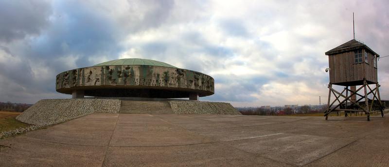 The Memorial - Majdanek Concentration Camp