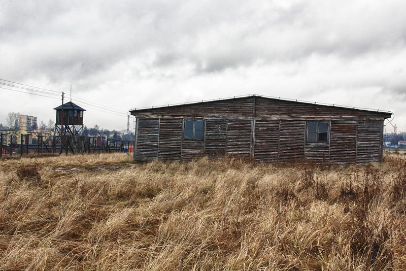 A barracks at Majdanek