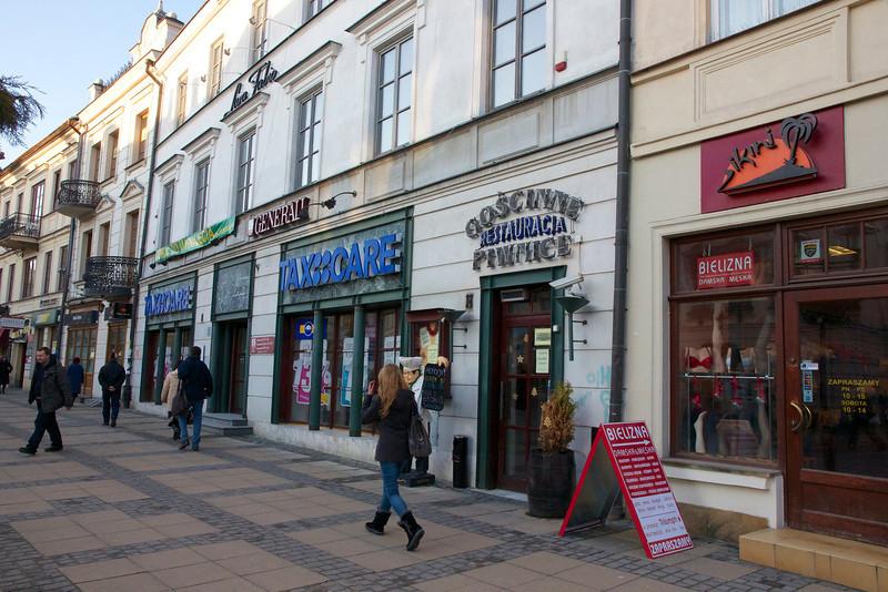 Down Krakowskie PrzedmieScie Street - Lublin