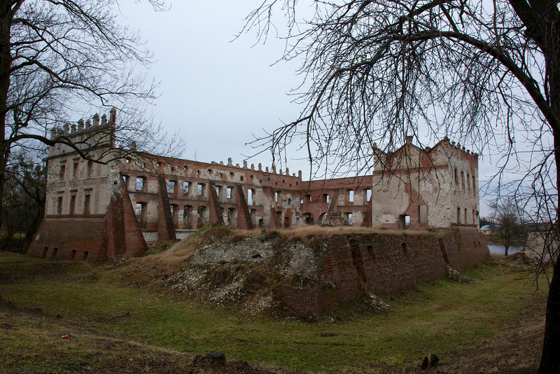 Ruins of the Castle Krupem, in the village of Krupe