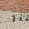 Wrocław is famous for its gnomes all over the city