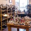 Polish pottery shop