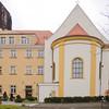 Orthodox Church next to the seminary/law school