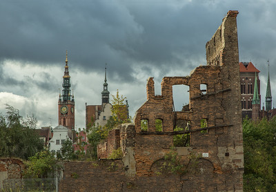 Gdansk stormy night-8171