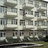 Barbara on balcony