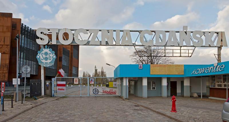 Lenin Shipyard Gdansk, Poland. Today museum