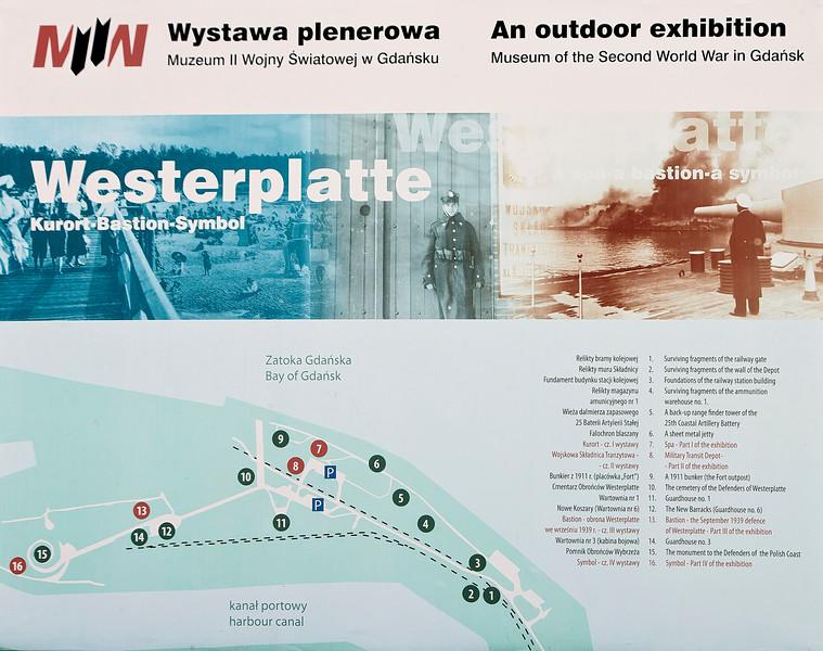 Westerplatte Gdansk, Poland