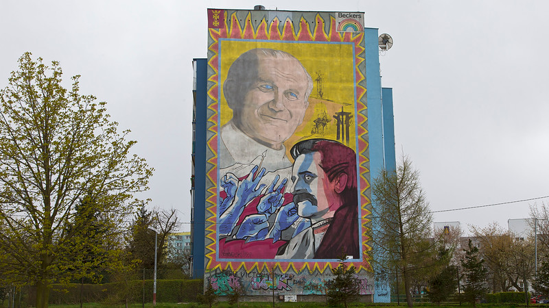 Lech Wałęsa Gdansk, Poland