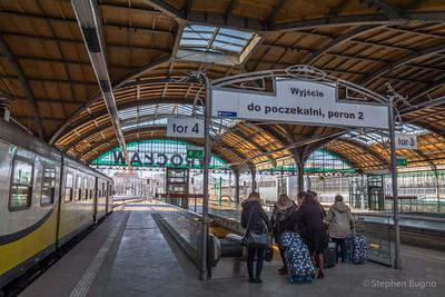 Wroclaw Station Poland