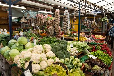 Krakow outdoor market
