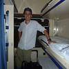 Sleeping quarters on the Krakow to Prague overnight train