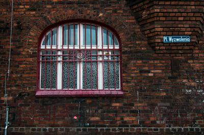 Window at Nikiszowiec