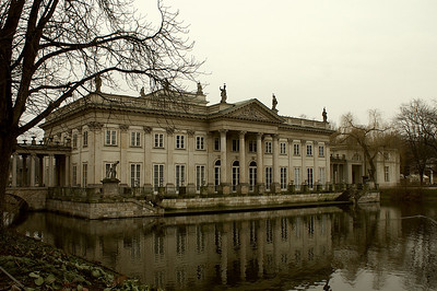 Palace in the Łazienki-Park