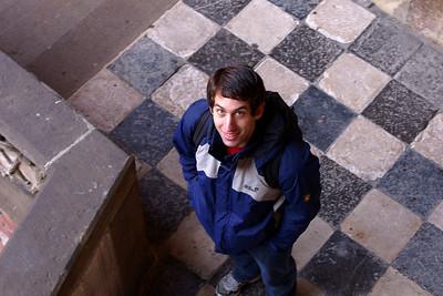 My travel companion Jörg