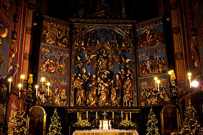Triptych in St. Mary's