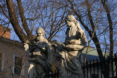 Statues at St. Peter and Paul Church