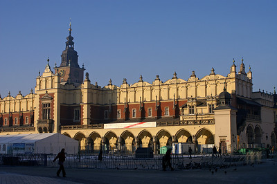 Cloth hall in Krakau