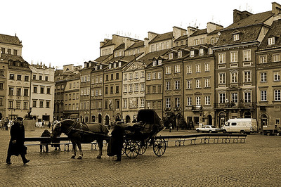 Like in old times... Stare miasto in Warsaw
