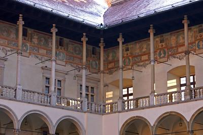 Wawel castle (nice furniture inside)