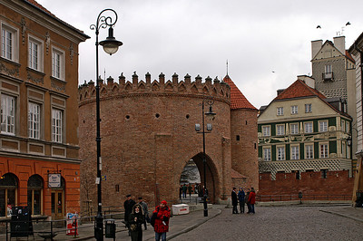 Barbacan in Warsaw