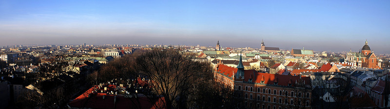 Nice view of Krakau