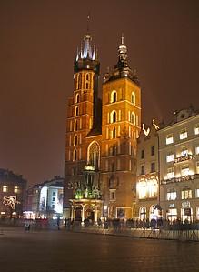 On the main market - church St. Mary