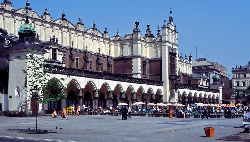 Sukiennice, Cloth hall Galleria, Krakow