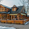 Another, of many nice wooden house in Zakopane city.