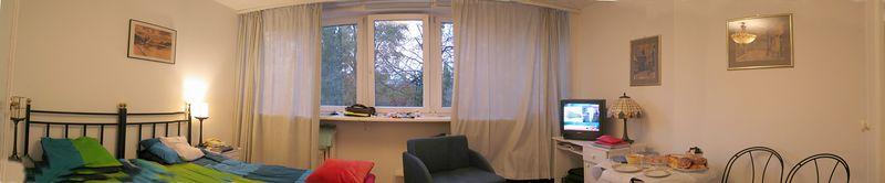 The studio apt that we rented.