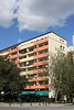 Lidka's apartment top floor corner.