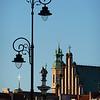 Lamps, King Zygmunt, church