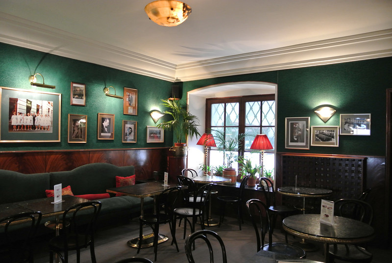 """Coffee and pastries at Blikle in Warsaw <a href=""""http://www.warsaw-life.com/drink/pubs_cafes_details/81-Cafe_Blikle"""">http://www.warsaw-life.com/drink/pubs_cafes_details/81-Cafe_Blikle</a>"""