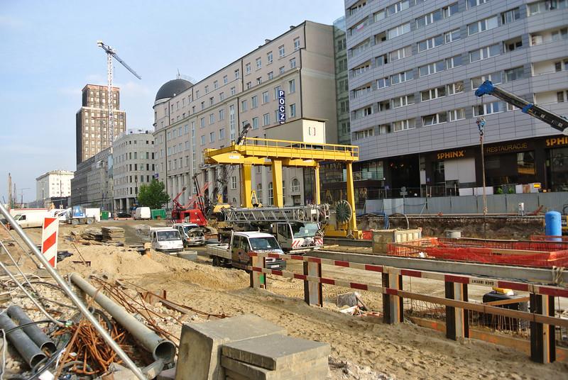 Construction of new metro line