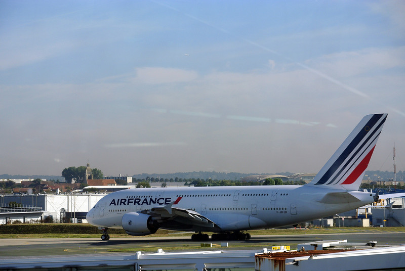 Terminal at CDG Airbus 380