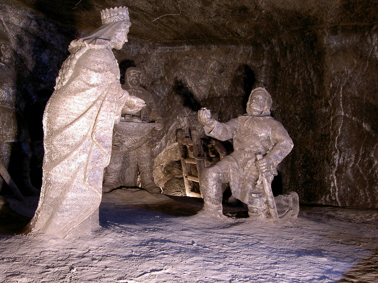 Salt mine in Krakow